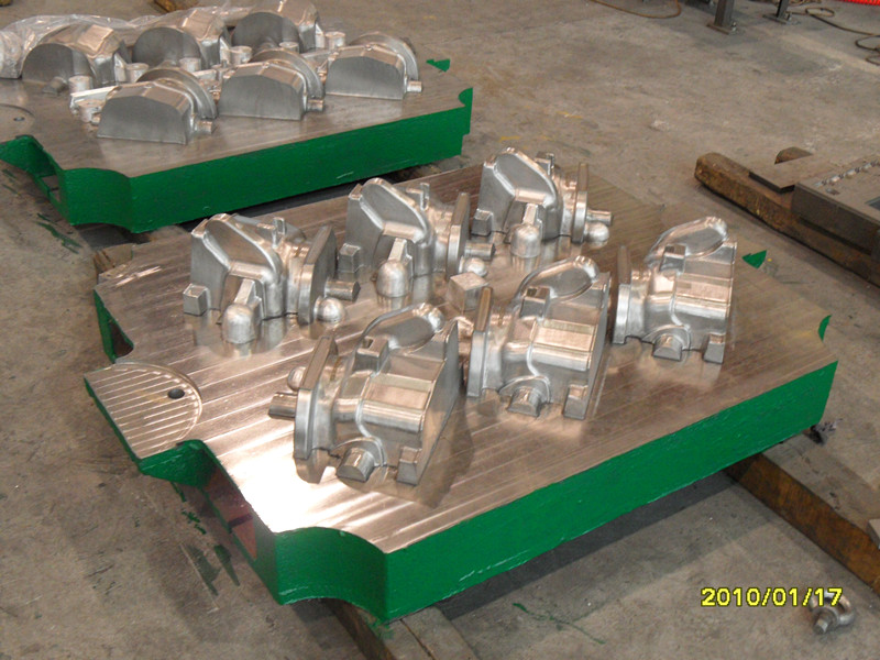 Steering knuckle mould